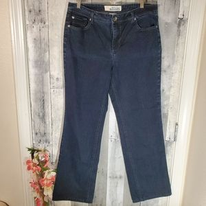 Faded Glory stretch bootcut eased jeans size 10